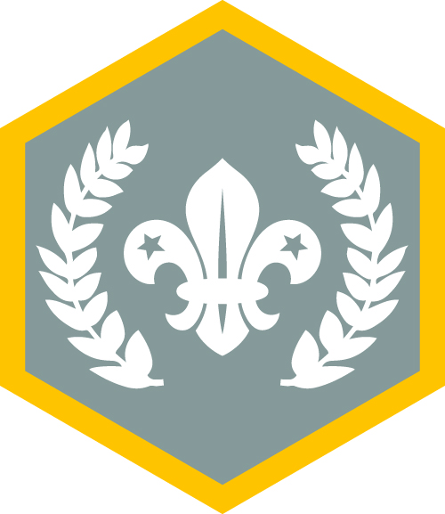 Scout badges and where they go!! - 1st Orwell Scouts